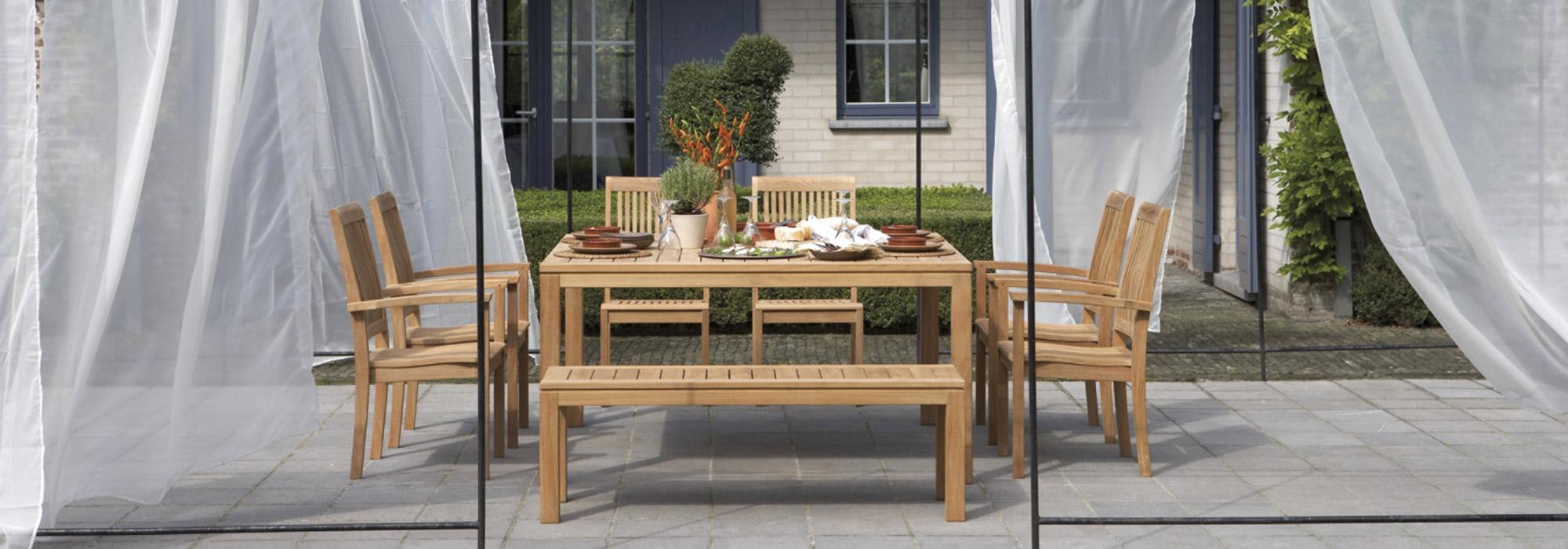 Landsitz Mehle - Gartenmöbel   Teak Gartenmöbel günstig